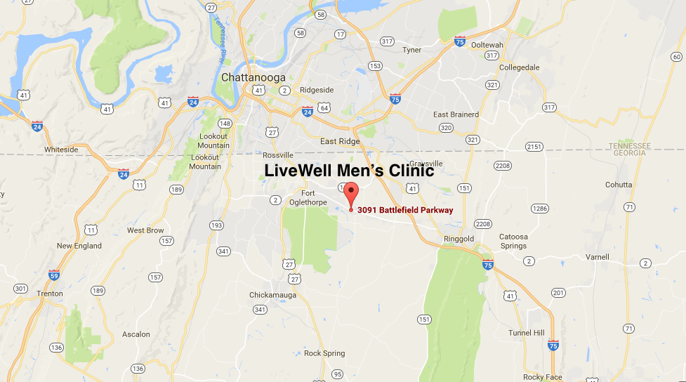 LiveWell Men's Clinic Chattanooga TN