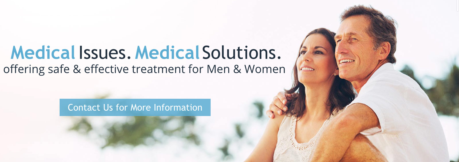 Medical Issues. Medical Sulutions. Contact us for more information